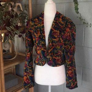 Vintage Velor Color Jacket